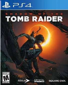Shadow Of The Tomb Raider Playstation 4 Ps4, Físico