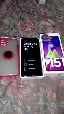 Samsung Galaxy M51 Nuevo Caja