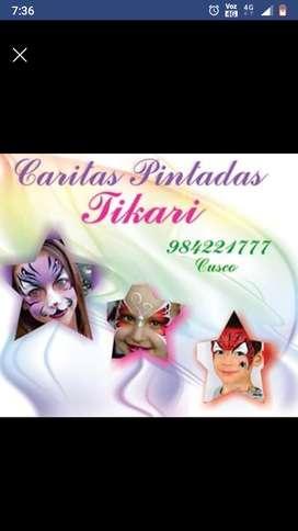 Cáritas pintadas Tikari Cusco