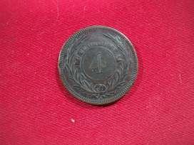 Uruguay 4 Centesimos 1869