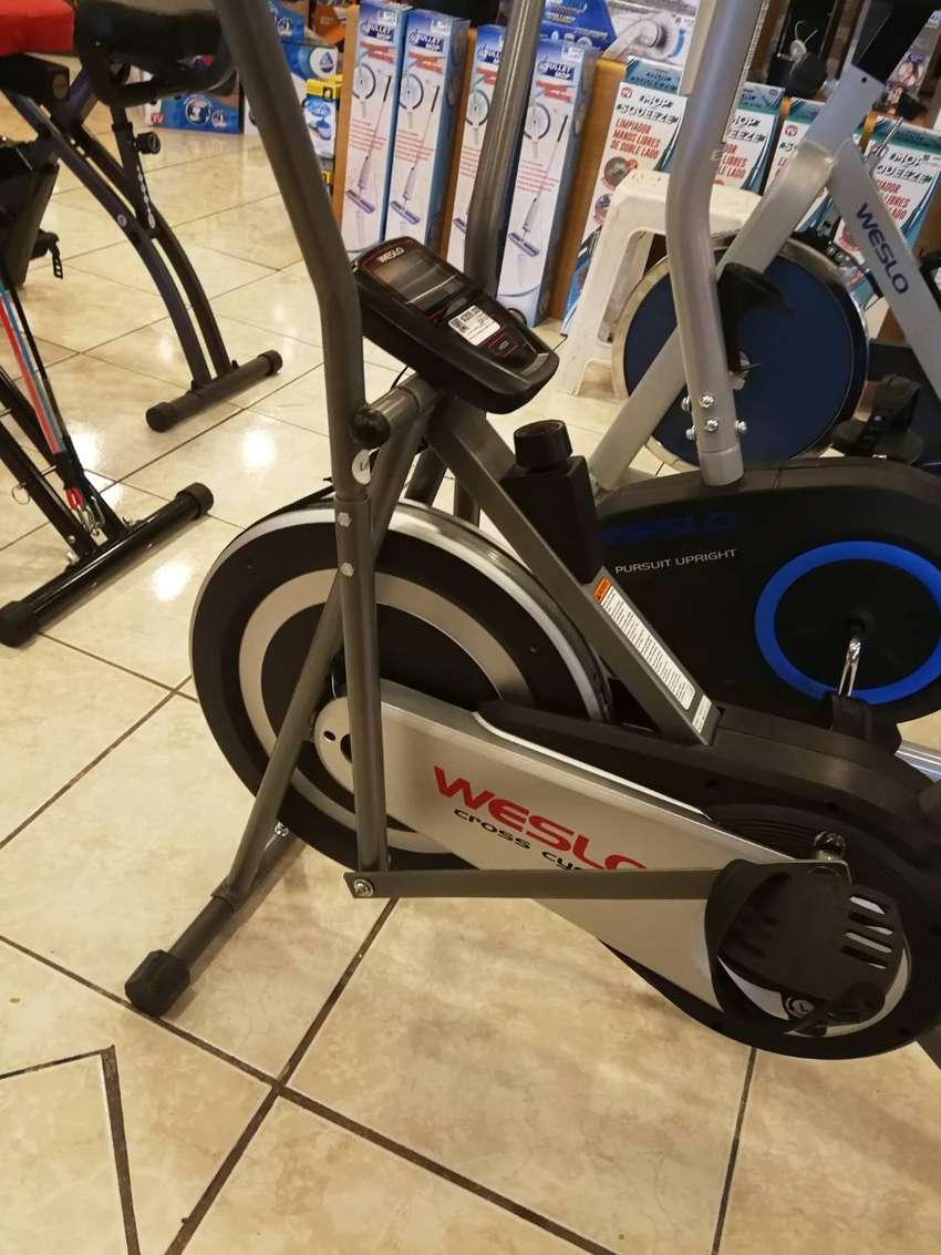 Bicicleta estática cross cycle Weslo nuevo 0