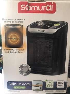 Calentador mini excel samurai eco safe