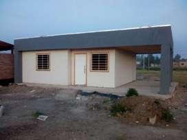 Vendo Casa 2 dorm 60 mts2 en Loteo Mángeles Plottier Lote 360 mts2 subdividibles Escritura servicios