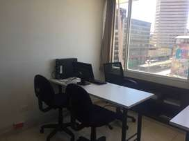 Comparto oficina amoblada en el centro de Bogotá