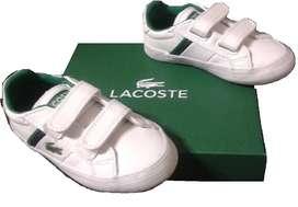 Zapatillas Lacoste Niños Fairlead-NUEVAS-