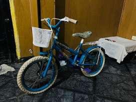Bici para nena rodado 16