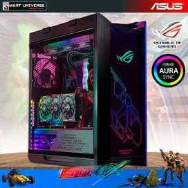 Case Gamer ASUS ROG Strix Helios RGB Cristal Templado
