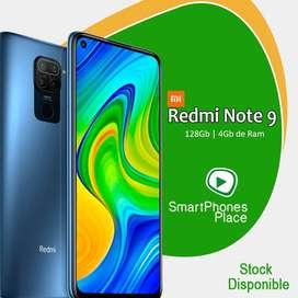 Xiaomi Redmi Note 9 de128gb   4Gb de Ram   Nuevo Caja Sellada   Garantía   Somos Tienda Física