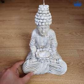 Velas Buda Decorativas Detalle Exito Fortuna 23 x 17 cm