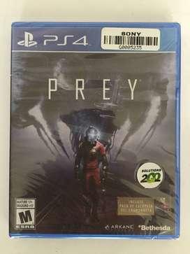 PREY para PS4 ¡¡¡ NUEVO !!!