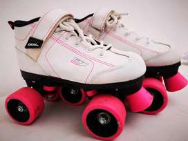 Patines Pacer GTX500 blanco y  rosa