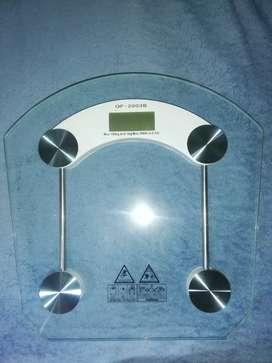 Báscula balanza digital de baño