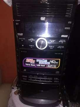 Equipo de Sonido Professional JVC SP-DXJ11