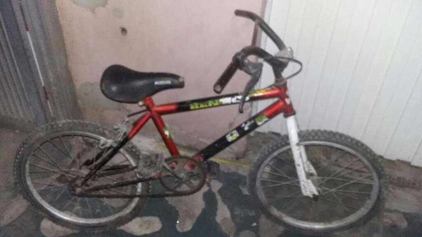 Bicicleta Estilo Bmx Rodado 20 0