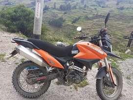 Moto 250 motivo de necesidad
