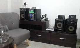 Equipo de sonido Sony + Mueble
