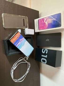 Vendo Samsung S10 con 3 meses de uso IMPECABLE