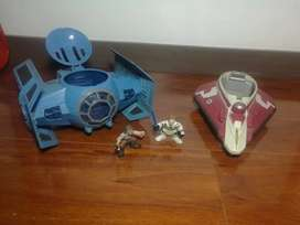 Naves de Star Wars y Figuras de Acción incluidas