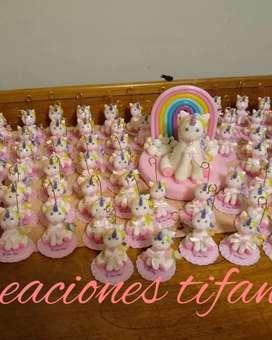 Souvenirs unicornio baby shower