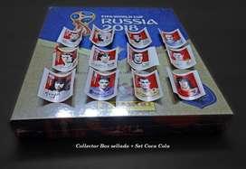 Collector Box Album Panini Gold Tapa Dura Set Coca Cola Actualización