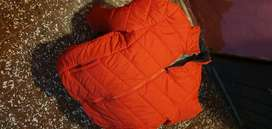 Campera inflable roja