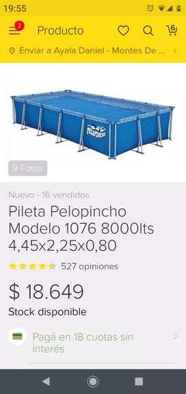 Pileta Pelopincho mod 1076 USADA