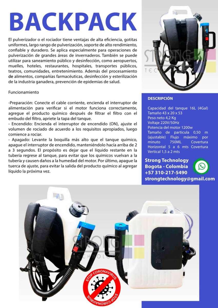 Maquina para procesos de desinfección Backpack 0