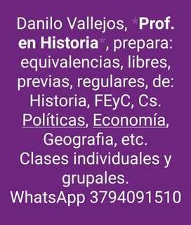 Prof. en Historia