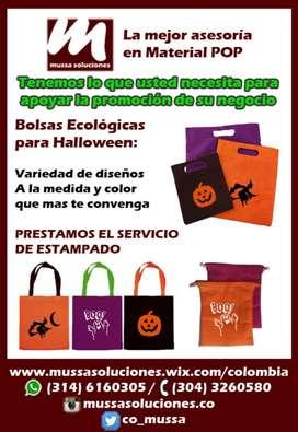 Bolsas Ecologicas Tulas Halloween