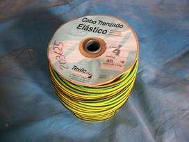 SOGA ELASTICA (SHOCK CORD) DE 4 MM. BOBINA DE 96 MTS