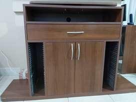 Mueble para TV con bandeja giratoria
