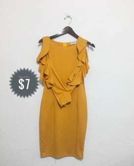 Vestido colo amarillo (talla M/L)