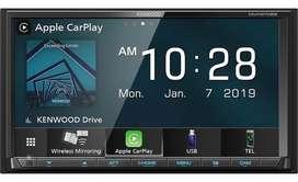 RADIO KENWOOD DMX-9706S CON CARPLAY, ANDROID AUTO Y MIRRORLINK INALAMBRICO