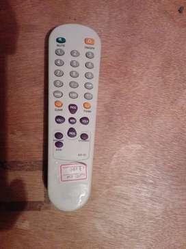 Control para televisor