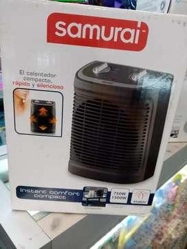 Calentadores de ambiente.
