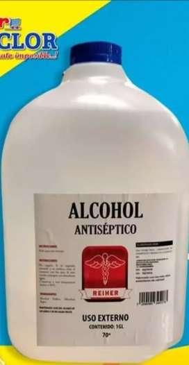 Galón d al Alcohol