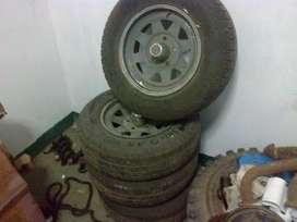 Ruedas Fate O 195/70/14 Chevrolet 400