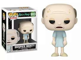 Funko Pop Morty Viejo  Rick and Morty Cuarta temporada
