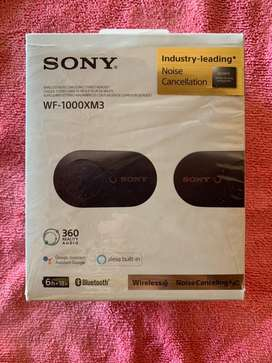 Auriculares In-ear inalámbricos Sony WF-1000XM3 black