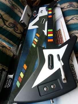 Guitar Rock Zero II, PS2. Wii. 10 Frets. Nintendo.