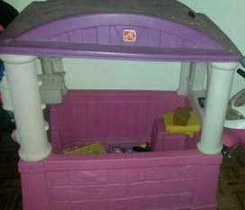 Casa de juguete niña
