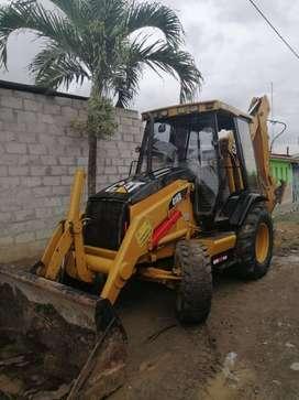VENDO RETROEXCAVADORA CATER 416 D