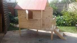 Casitas infantiles de madera