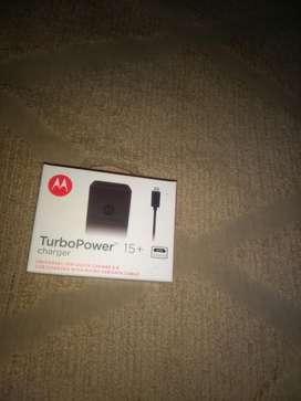 Vendo Cargador para Motorola sin Uso