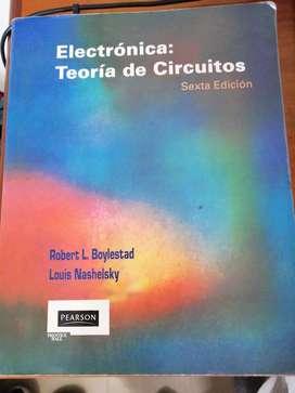 "Libro ""electrónica:teoría de circuitos"" Roberto L. Boylestad-Louis Nashelsky"
