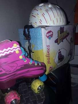 Vendo patines soy luna original con luces número del 28 al 30