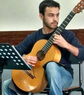 Clases, cursos y talleres de guitarra online y presencial en Rosario, Santa Fe, Argentina