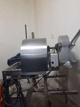 Vendo maquinaria para producción de fritos