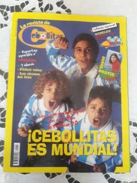 Revista Cebollitas Es Mundial De Colección Excelente!!!