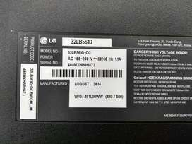 Tv Lg 32lb561d para Repuestos